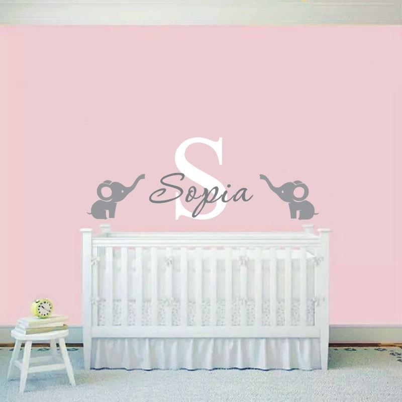 Baby Names Wall Promotion Shop For Promotional Baby Names Wall On For Baby Name Wall Art (Image 8 of 20)