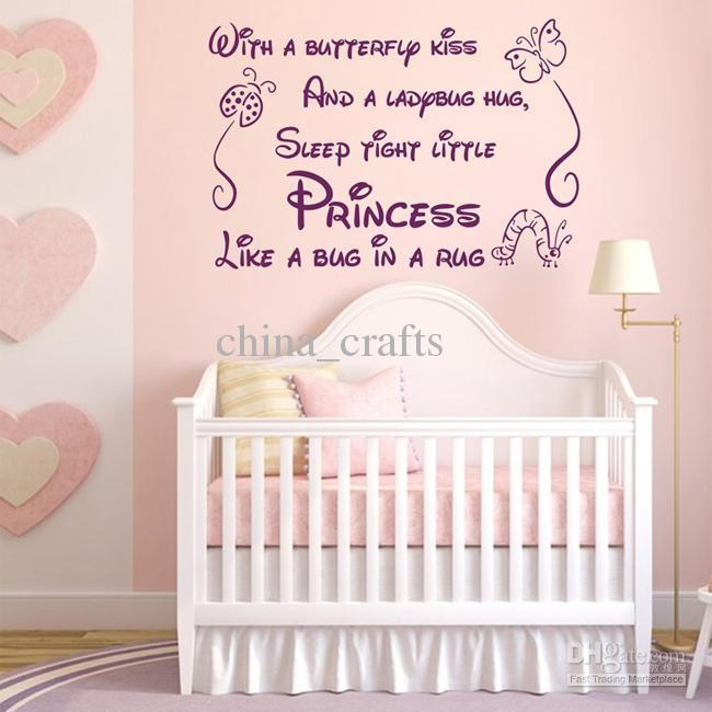 Baby Nursery Decor: Awesome Quotes Baby Wall Art For Nursery Intended For Baby Wall Art (Image 3 of 20)