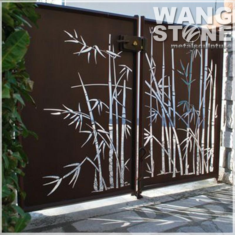 Bamboo Metal Wall Art, Bamboo Metal Wall Art Suppliers And Inside Bamboo Metal Wall Art (View 5 of 20)