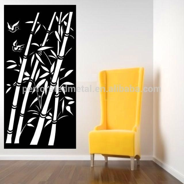 Bamboo Pattern Wall Art For Home Decoration – Buy Bamboo Pattern Pertaining To Bamboo Metal Wall Art (View 9 of 20)