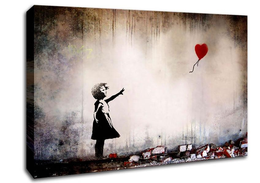 Banksy Canvas Art | Wallartdirect.co (Image 5 of 20)