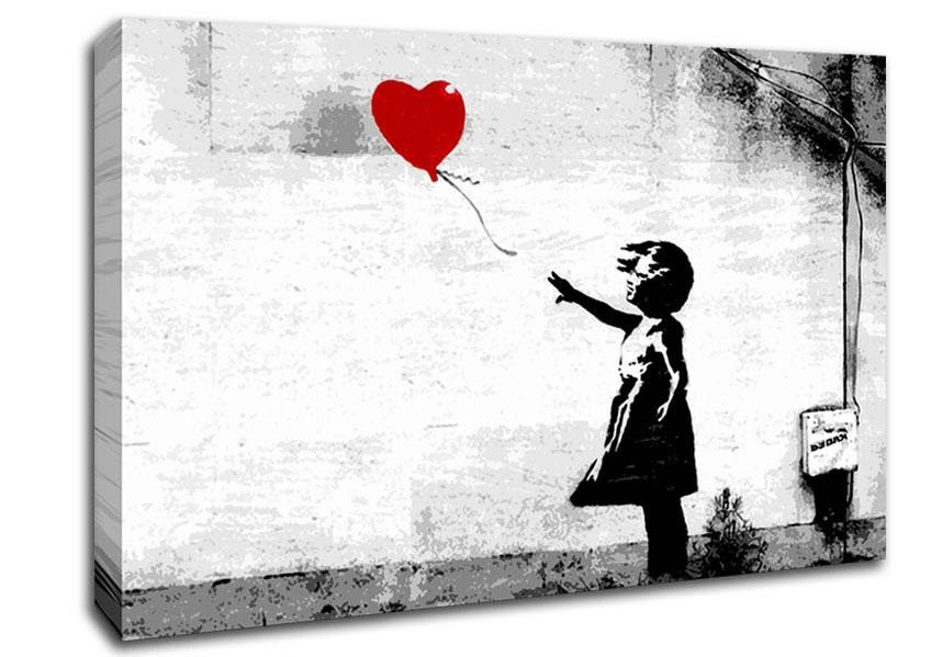 Banksy Canvas Art | Wallartdirect.co (Image 6 of 20)