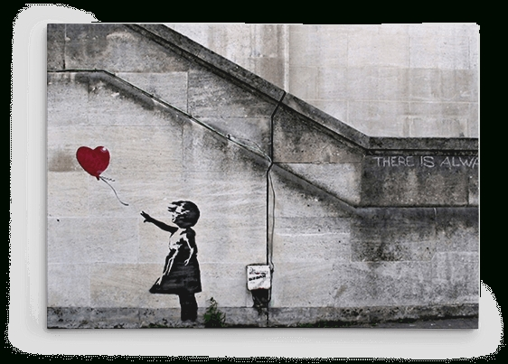 Banksy Prints On Canvas – Large Banksy Canvas Prints, Wall Art For In Banksy Canvas Wall Art (Image 12 of 20)