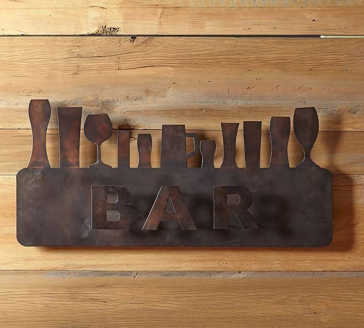 Bar Wall Art | Pottery Barn Throughout Wall Art For Bar Area (Image 3 of 20)