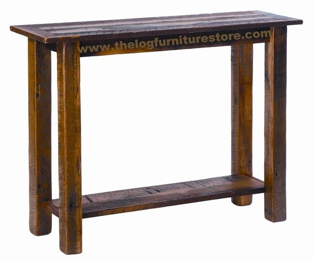 Barnwood Sofa Table – Thesofa With Barnwood Sofa Tables (View 11 of 20)