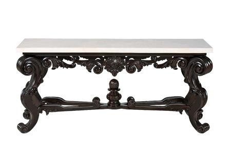 Baroque Console Table 319 913S, 319 913A From Bernhardt For Bernhardt Console Tables (Image 3 of 20)