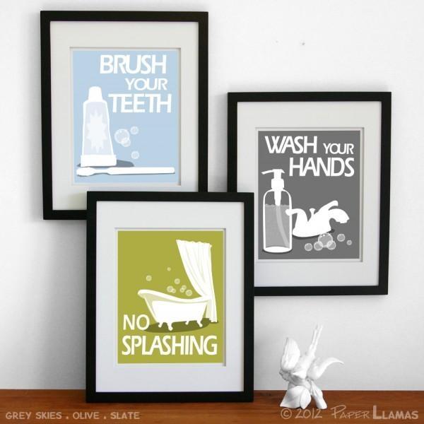 Bathroom Wall Art Ideas Decor | 2016 Bathroom Ideas & Designs Regarding Shower Room Wall Art (Image 4 of 20)