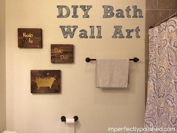 Bathroom Wall Art Ideas Decor | Zonadigital For Bath Wall Art (Image 2 of 20)