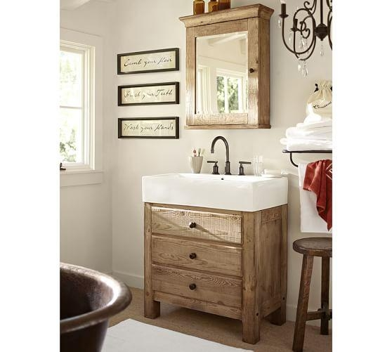 Bathroom Wall Art, Set Of 3 | Pottery Barn Throughout Bath Wall Art (Image 3 of 20)