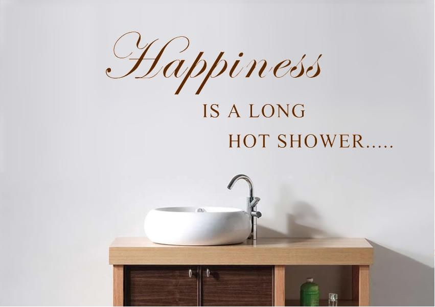 Bathroom Wall Stickers | Wallartdirect.co (Image 7 of 20)