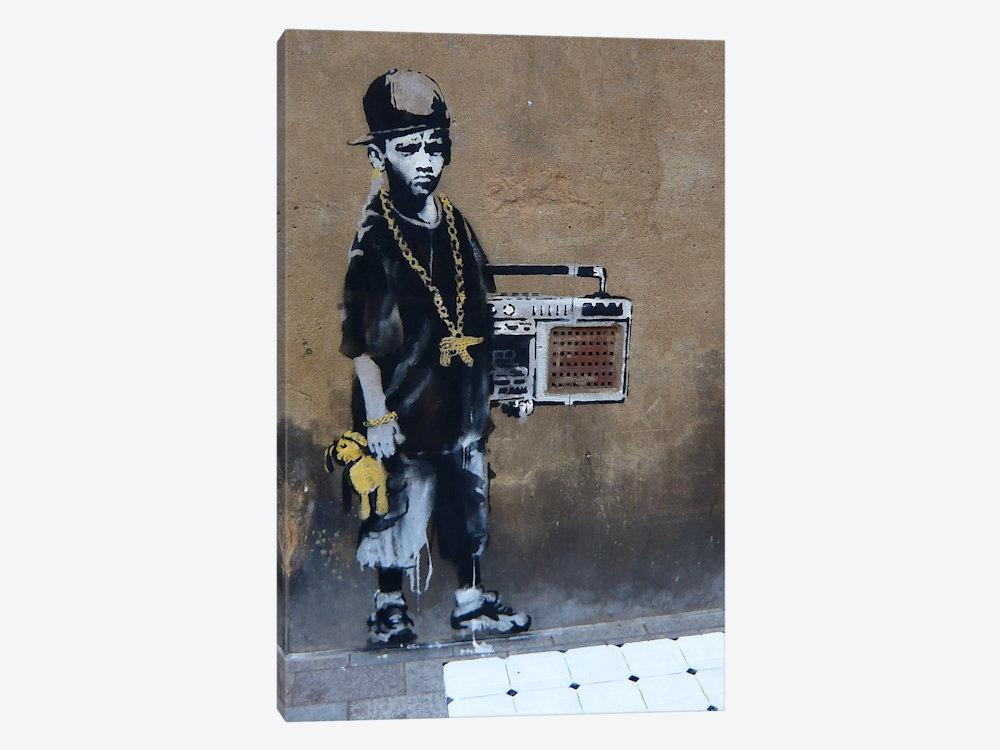 Bboy Canvas Artbanksy | Icanvas Intended For Banksy Canvas Wall Art (Image 13 of 20)