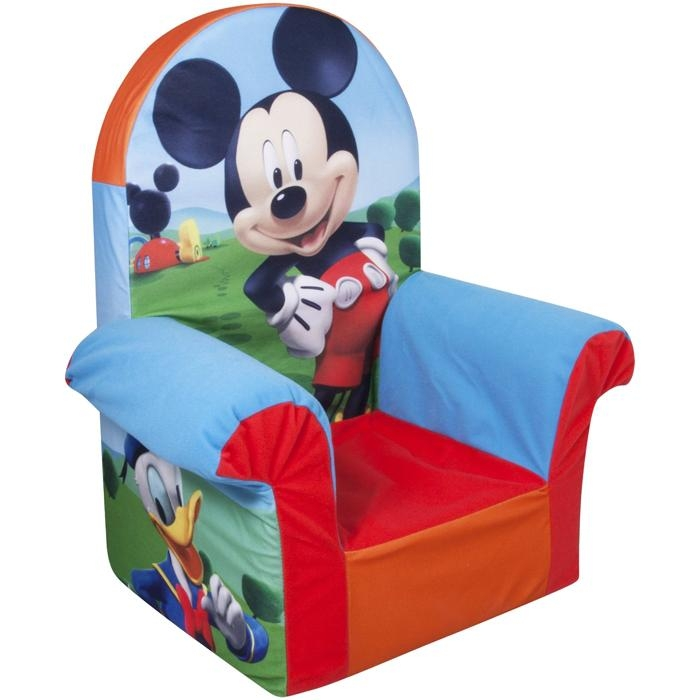 Bbr Baby | Rakuten Global Market: Marshmallow Highback Chair &quot For Mickey Mouse Clubhouse Couches (Image 8 of 20)