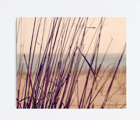 Beach Grass On Gallery Wrapped Canvas | Large Nautical Wall Decor Within Coastal Wall Art Canvas (Image 6 of 20)