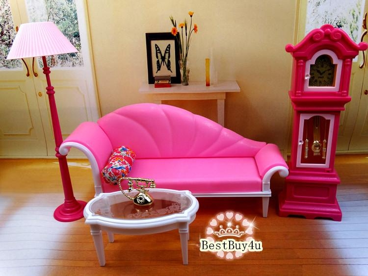 Beautiful Design Barbie Living Room Set Pretty Looking In Barbie Sofas (Image 8 of 20)
