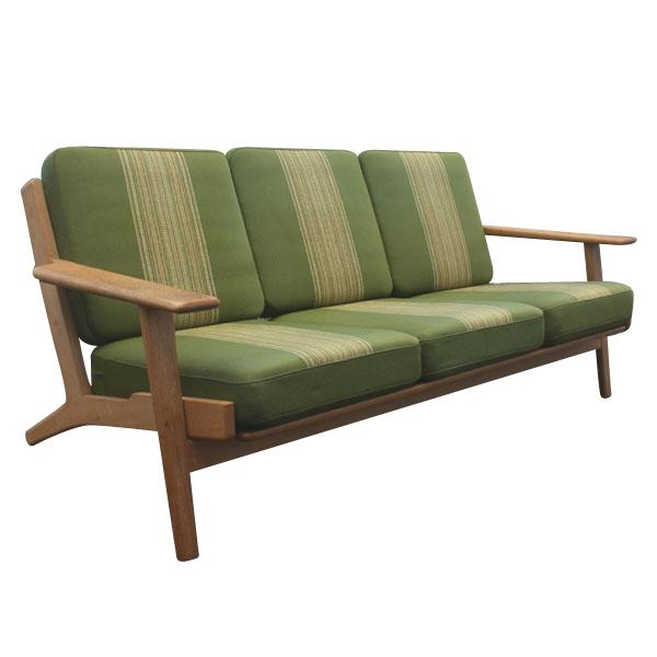 Beautiful Mid Century Danish Modern Couch Mogensen Twoseat Sofa E In Danish Modern Sofas (Image 8 of 20)