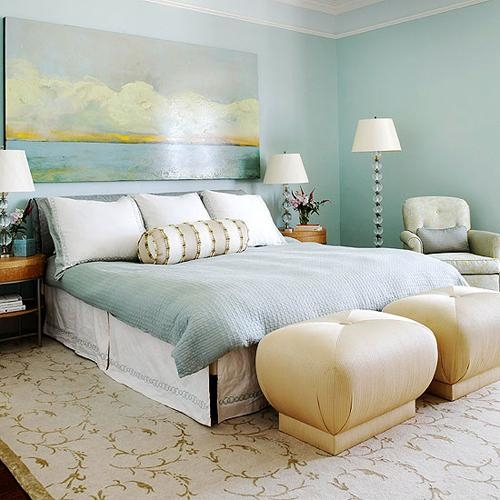 Bedroom Decorating Ideas: What To Hang Over The Bed In Over The Bed Wall Art (Image 4 of 20)