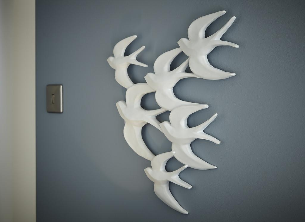 Bedroom Wall Art – Ceramic Flying Birds | We've Released Thi… | Flickr Pertaining To Ceramic Bird Wall Art (Image 7 of 20)