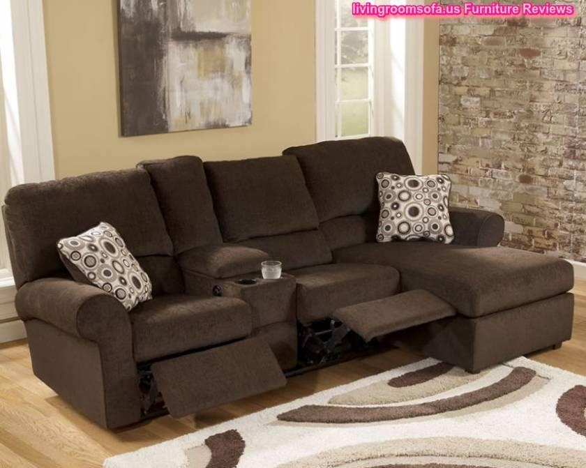 Beige Apartment Size Sectional Sofa L Shaped Small Regarding Small L Shaped Sectional Sofas (View 5 of 20)