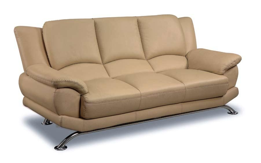 Beige Leather Sofas Intended For Beige Sofas (Image 10 of 20)