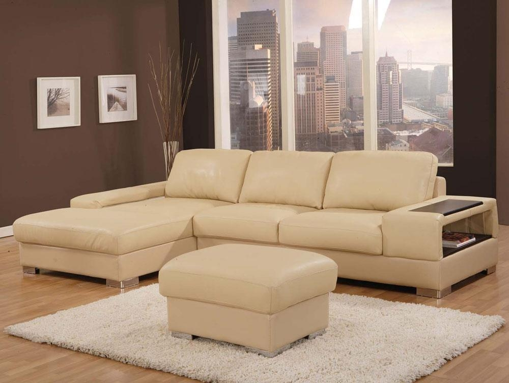 Beige Leather Sofas Pertaining To Beige Sofas (Image 11 of 20)