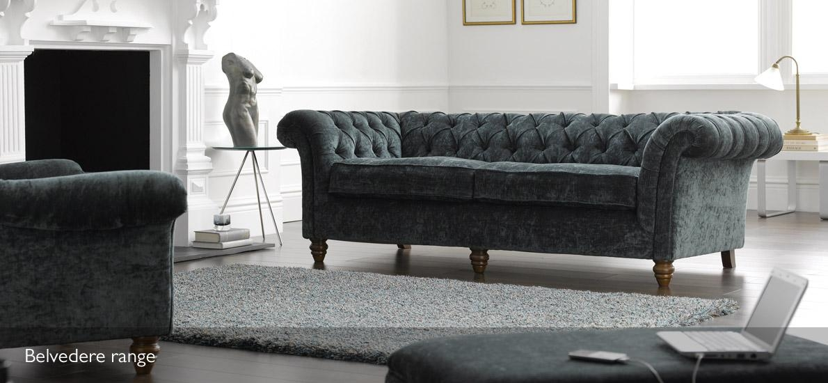 Belvedere 3 Seater Velvet Chesterfield Sofa | Sofasofa | Sofasofa Pertaining To Purple Chesterfield Sofas (Image 5 of 20)