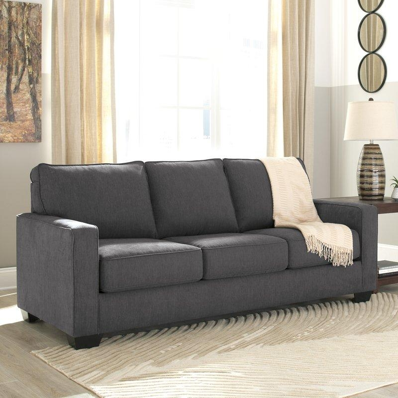 Benchcraft Zeb Queen Sleeper Sofa & Reviews | Wayfair Intended For Sleeper Sofas (Image 3 of 20)