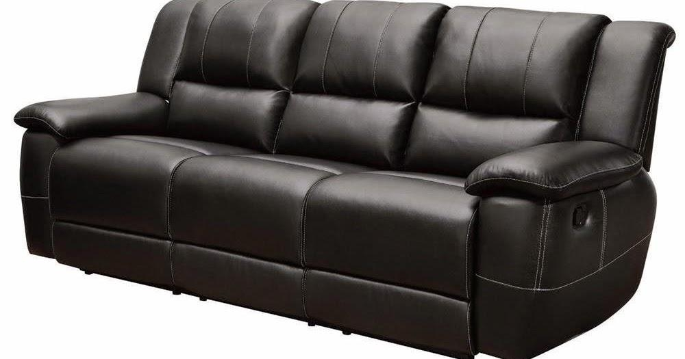 Berkline Reclining Leather Loveseat (Image 7 of 20)
