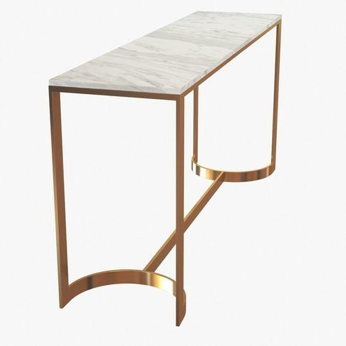 Bernhardt Blanchard Console Table 3D Model | Cgtrader In Bernhardt Console Tables (View 8 of 20)