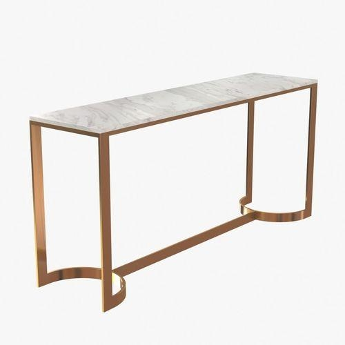 Bernhardt Blanchard Console Table 3D Model | Cgtrader In Bernhardt Console Tables (Image 5 of 20)