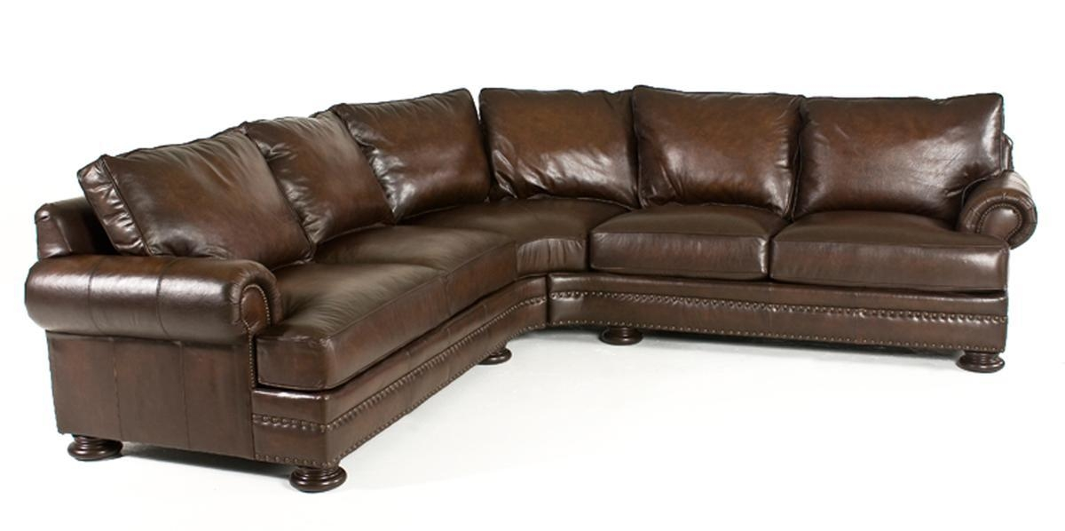 Bernhardt Foster 2 Piece Leather Sectional | Weir's Furniture With Regard To Bernhardt Brae Sofas (View 15 of 20)