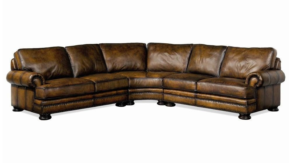 Bernhardt Foster Leather Sectional Sofa With Nailhead Trim – John Inside Foster Leather Sofas (View 16 of 20)