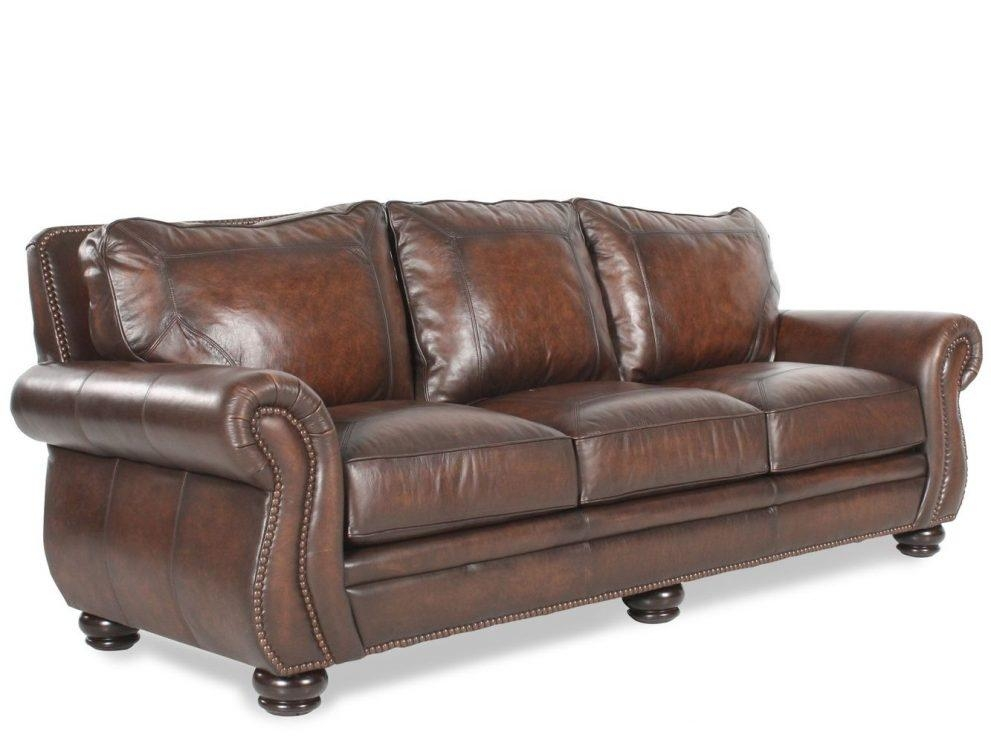 Bernhardt Foster Leather Sofa | Fraufleur Regarding Foster Leather Sofas (View 19 of 20)