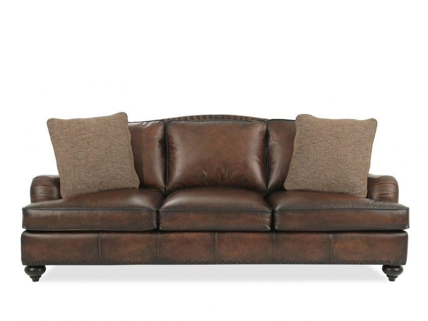 Bernhardt Foster Leather Sofa | Fraufleur Throughout Foster Leather Sofas (View 20 of 20)