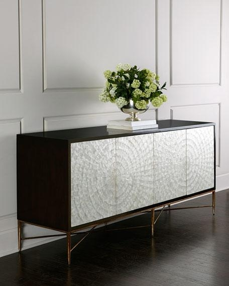 Bernhardt Shay Capiz Shell Buffet Intended For Bernhardt Console Tables (Image 13 of 20)