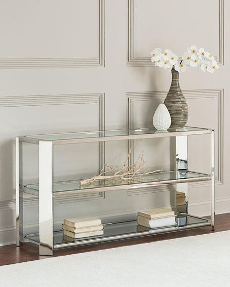 Bernhardt Silverman Console Table Regarding Bernhardt Console Tables (Image 14 of 20)