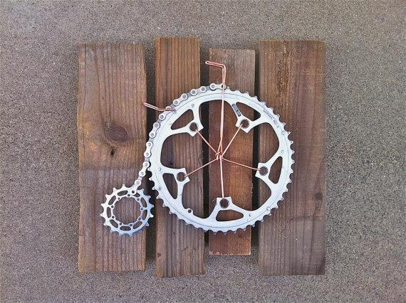 Best 10+ Bicycle Parts Art Ideas On Pinterest | Bicycle Parts Regarding Cycling Wall Art (Image 4 of 20)