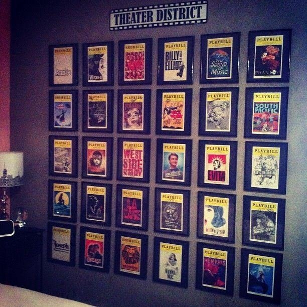 Best 10+ Broadway Themed Room Ideas On Pinterest | Ticket Boxes Within Home Theater Wall Art (Image 6 of 20)