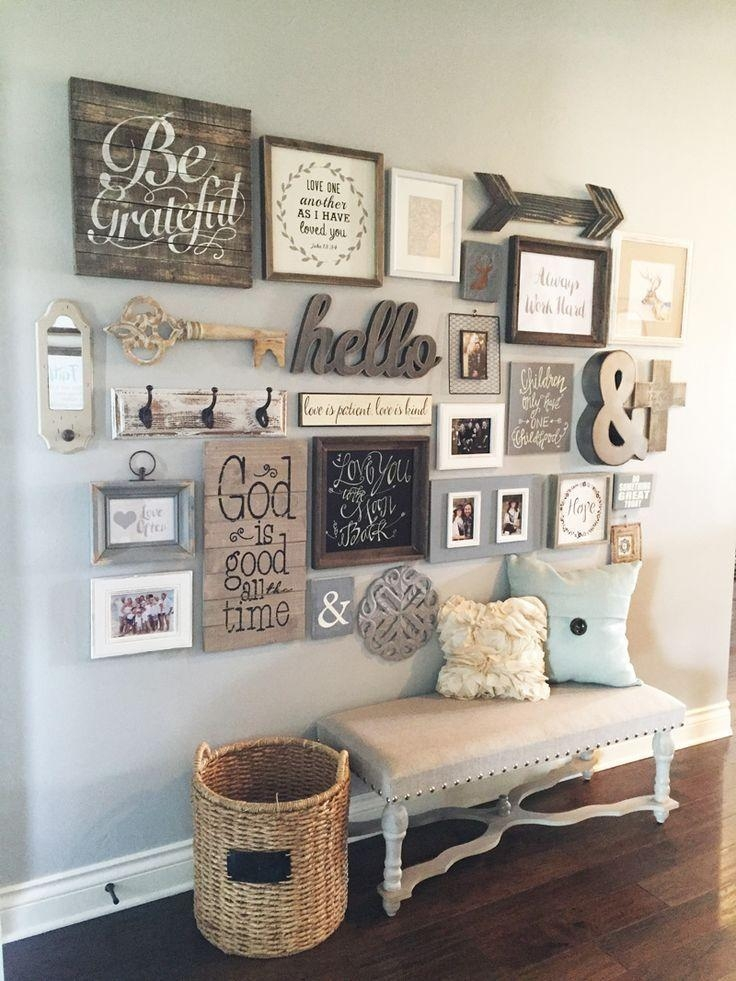 Best 10+ Country Wall Decor Ideas On Pinterest | Rustic Wall Decor With Country Style Wall Art (Image 3 of 20)