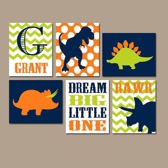 Best 10+ Dinosaur Room Decor Ideas On Pinterest | Dinosaur Kids For Dinosaur Wall Art For Kids (View 5 of 20)