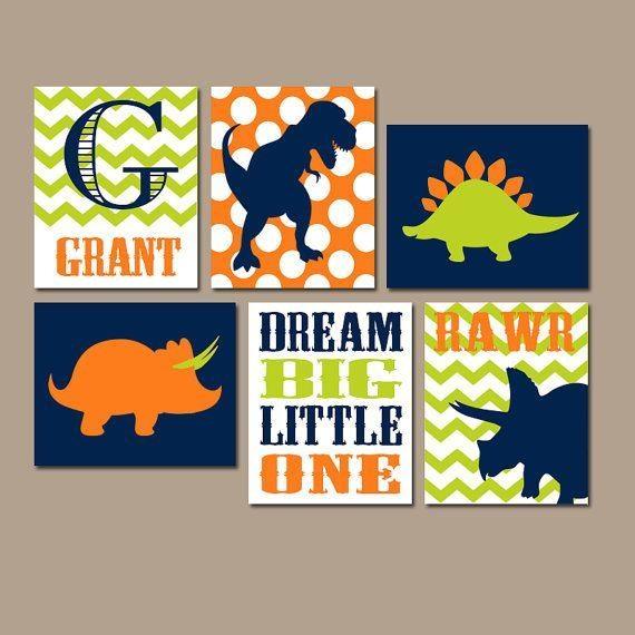 Best 10+ Dinosaur Room Decor Ideas On Pinterest | Dinosaur Kids With Dinosaur Canvas Wall Art (View 3 of 20)