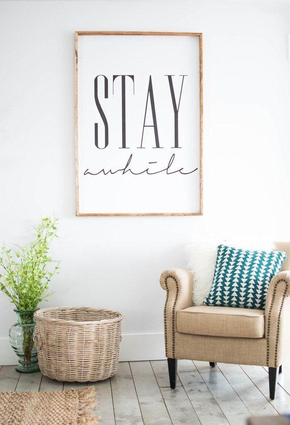 Best 10+ Home Decor Wall Art Ideas On Pinterest | Vinyl Wall With Pinterest Wall Art Decor (View 5 of 20)