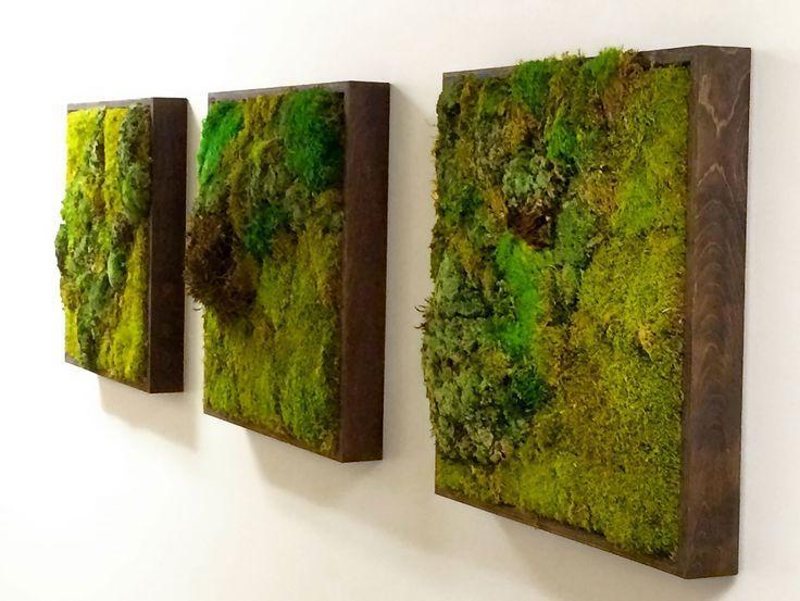 Best 10+ Moss Wall Art Ideas On Pinterest | Moss Wall, Moss Art Within Long Vertical Wall Art (Image 6 of 20)