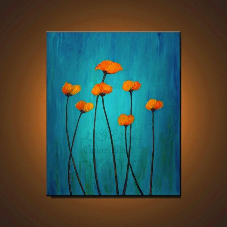Best 10+ Orange And Turquoise Ideas On Pinterest | Living Room Inside Orange And Turquoise Wall Art (Image 5 of 20)