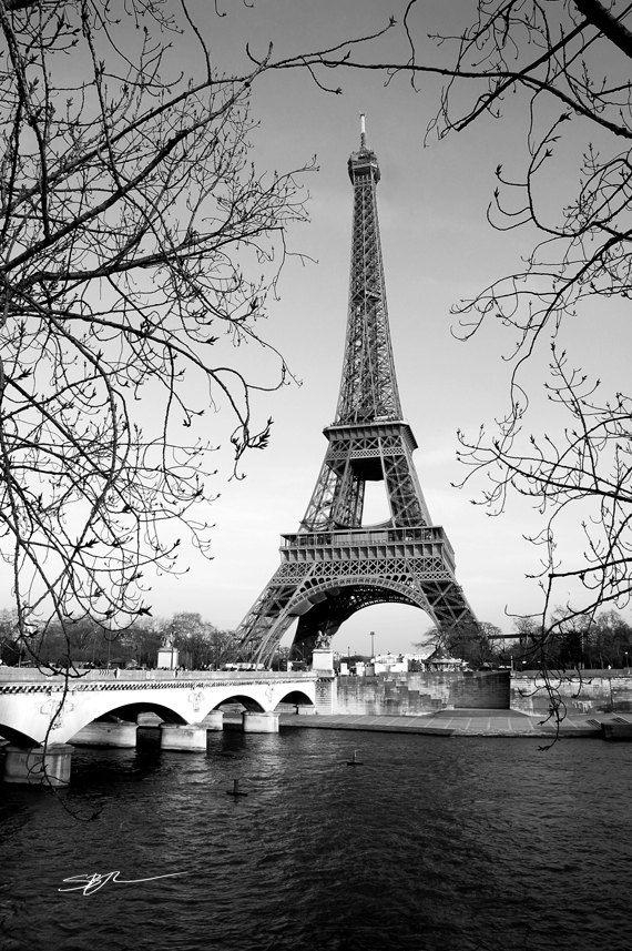 Best 10+ Paris Black And White Ideas On Pinterest | Paris Lights Regarding Black And White Paris Wall Art (Image 4 of 20)