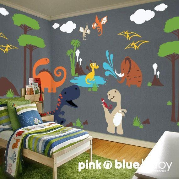Best 10+ Playroom Wall Decor Ideas On Pinterest | Playroom Decor For Dinosaur Wall Art For Kids (View 17 of 20)