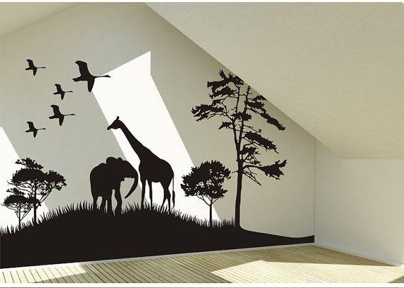 Best 10+ Wall Art Decal Ideas On Pinterest | Custom Vinyl Wall Inside Animal Wall Art (View 7 of 20)