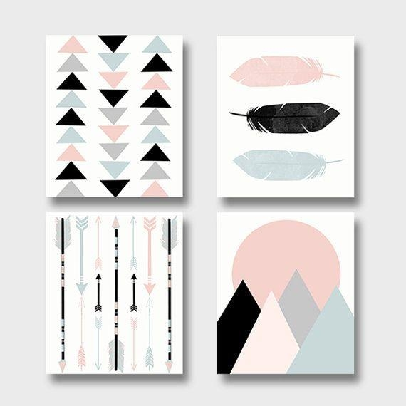 Best 10+ Wall Art Sets Ideas On Pinterest | Wood Art, Branches And In Wall Art Print Sets (Image 6 of 20)