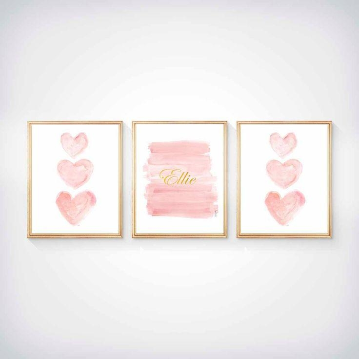 Best 10+ Wall Art Sets Ideas On Pinterest | Wood Art, Branches And Inside Pink And Grey Wall Art (View 10 of 20)