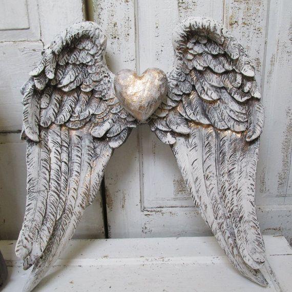 Best 20+ Angel Wings Wall Decor Ideas On Pinterest | Angel Wings Throughout Angel Wings Sculpture Plaque Wall Art (View 2 of 20)