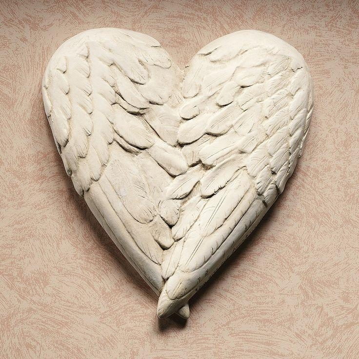 Best 20+ Angel Wings Wall Decor Ideas On Pinterest | Angel Wings With Regard To Angel Wings Sculpture Plaque Wall Art (View 3 of 20)